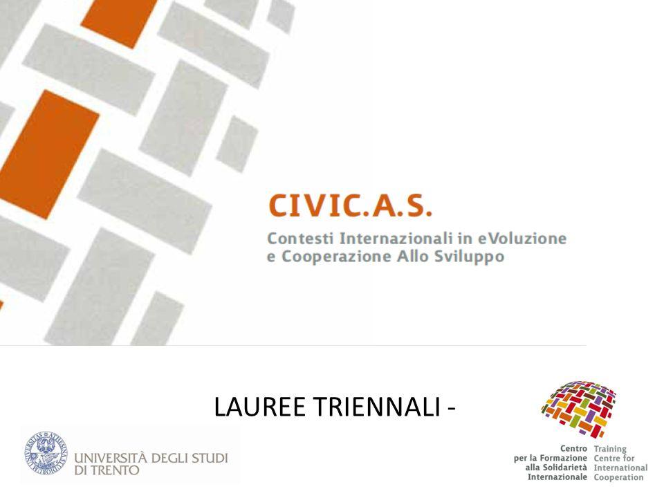 LAUREE TRIENNALI -