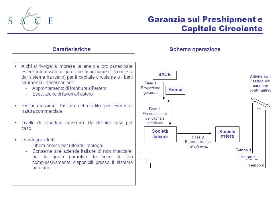  A chi si rivolge: a imprese italiane o a loro partecipate estere interessate a garantire finanziamenti (concessi dal sistema bancario) per il capita