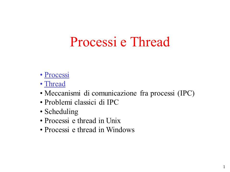 22 Uso dei Thread (3) Un Web Server con più thread (multithreaded)