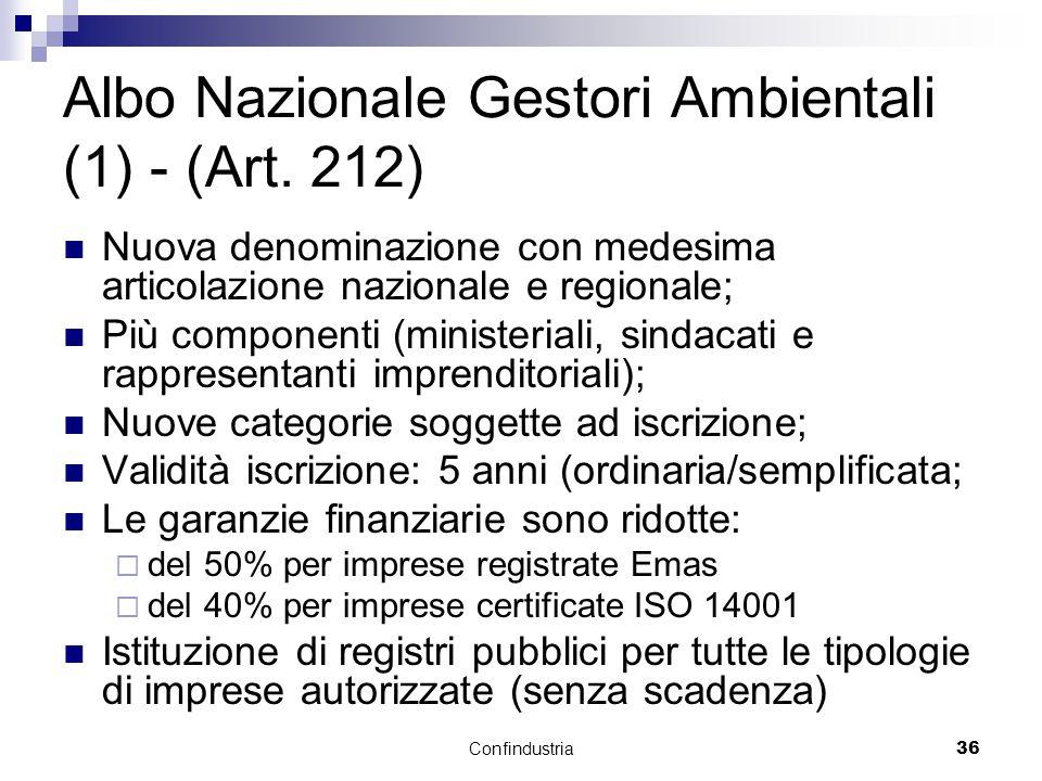 Confindustria36 Albo Nazionale Gestori Ambientali (1) - (Art.