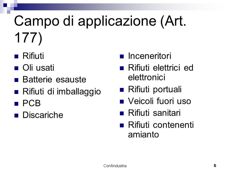Confindustria5 Campo di applicazione (Art.