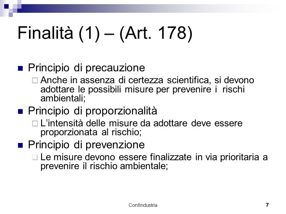 Confindustria7 Finalità (1) – (Art.