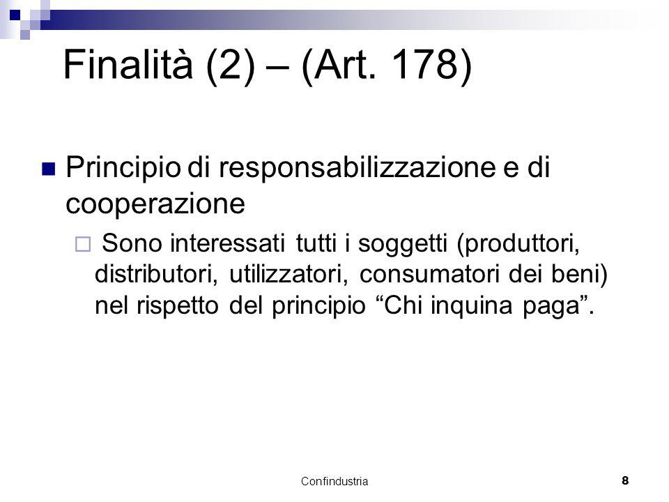Confindustria8 Finalità (2) – (Art.