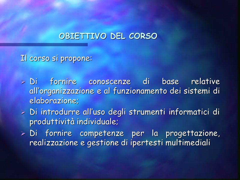 Master in Lingue Straniere per il Turismo A.A. 2002/2004 INFORMATICA E LINGUAGGI MULTIMEDIALI