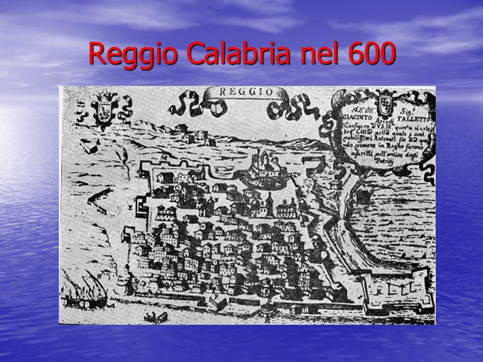 Reggio Calabria nel 600