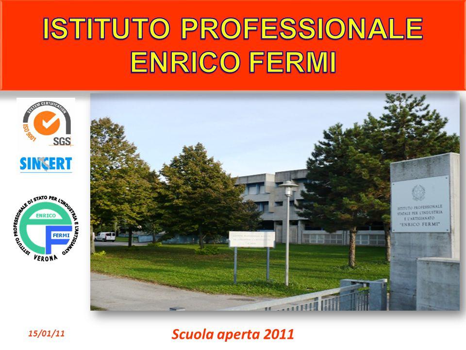 Il corso ha durata di cinque anni 15/01/11 Scuola aperta 2011