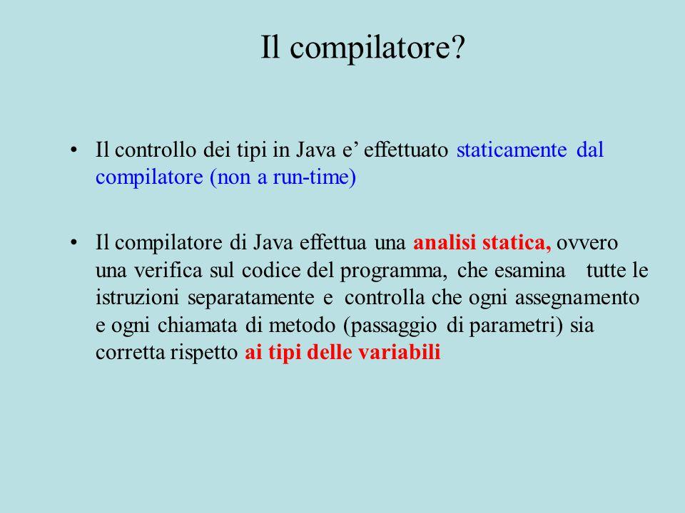 Il compilatore.