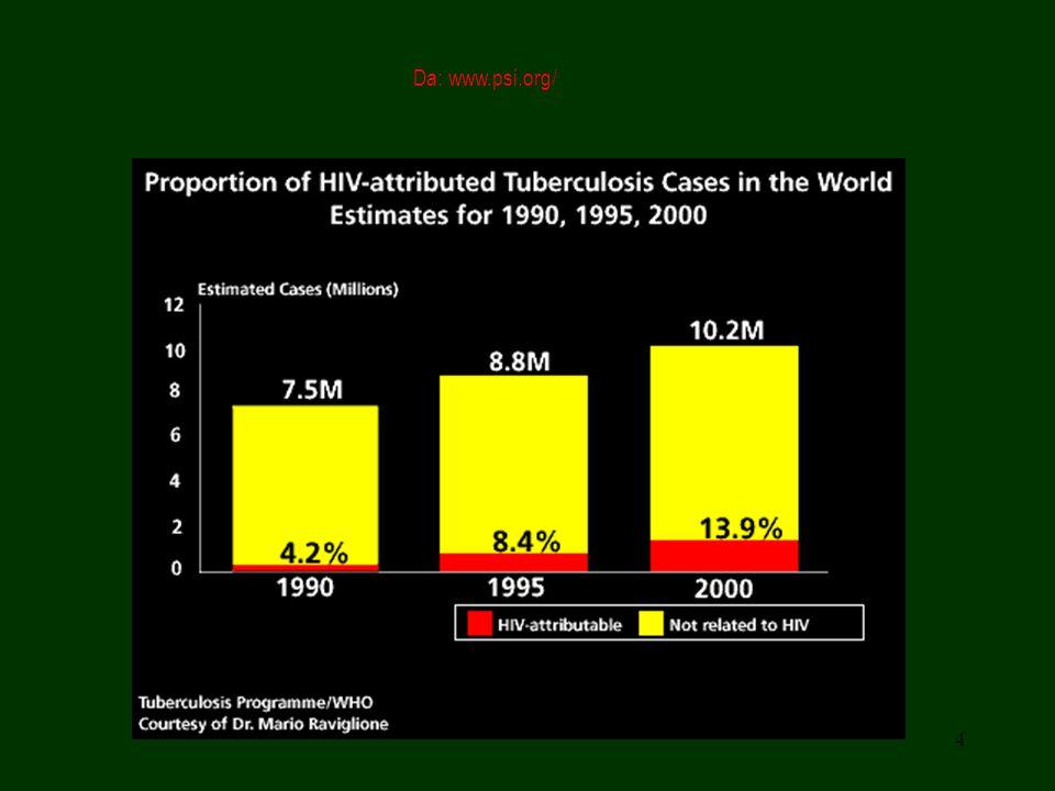 15 Immunità La risposta immunitaria specifica dell ospite, di tipo cellulo-mediato, è evidenziabile attraverso la intradermoreazione alla tubercolina.