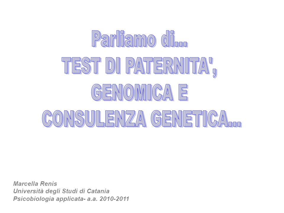 Marcella Renis Università degli Studi di Catania Psicobiologia applicata- a.a. 2010-2011