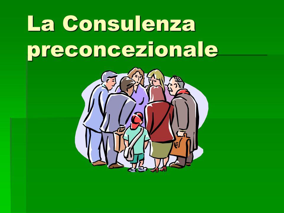 La Consulenza preconcezionale
