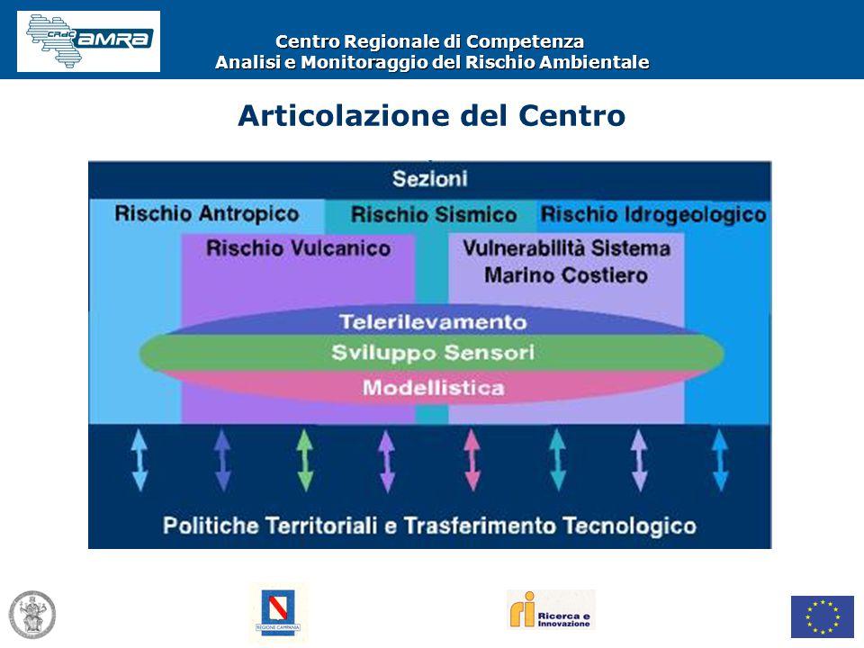 Centro Regionale di Competenza Analisi e Monitoraggio del Rischio Ambientale Articolazione del Centro
