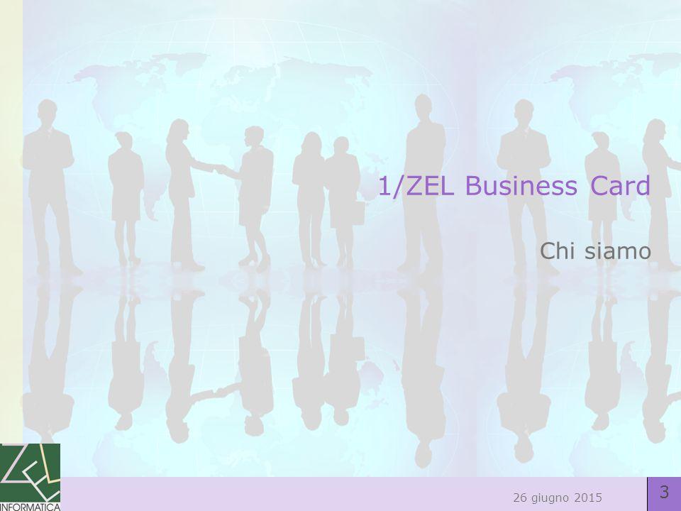 4 26 giugno 2015 Chi siamo Affidabilità: 25 anni di storia Zel nasce a Milano nel 1986, da uno spin off da una società del gruppo ENI, con l'intento di fornire servizi di consulenza e sviluppo applicativo gestionale in ambiente Mainframe Continuità: una scelta tecnologica consolidata Zel è business partner Lotus dal 1989, partnership che si è rafforzata, sempre mantenendo i più alti livelli di certificazione, con l'acquisizione del brand Lotus da parte di IBM Un pool completo di competenze : 15 persone e 28 certificazioni Un gruppo affiatato con un turn over tra i più bassi nel settore e competenze certificate ai massimi livelli e sulle piattaforme più recenti sia dal punto di vista tecnico che dal punto di vista commerciale Il nostro patrimonio : un parco clienti fidelizzato Esperienze pluriennali continuative in settori merceologici differenti