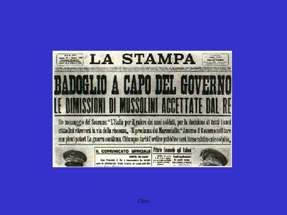 agosto Soppressione dell'ordinamento corporativo (rdl 9.8.1943, n.