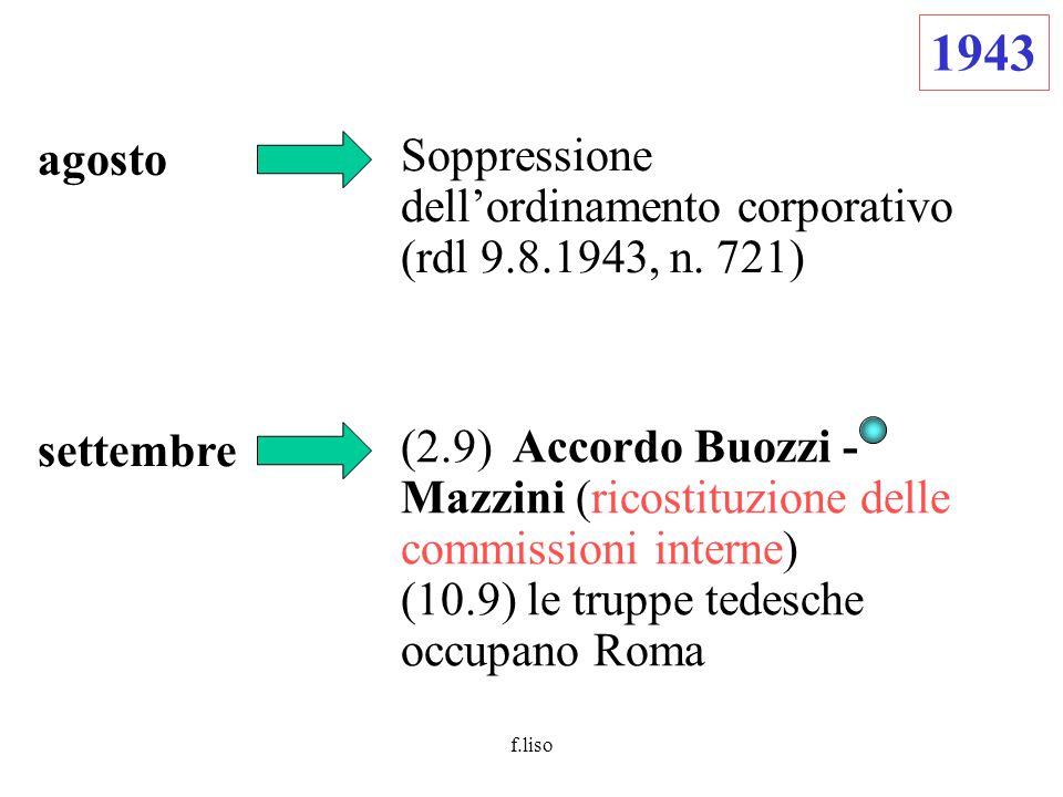 f.liso 1944 giugno  Patto di Roma (si costituisce la CGIL unitaria)  Il Re nomina il figlio, Umberto II, luogotenente generale del regno  Ivanoe Bonomi viene incaricato di formare un nuovo governo