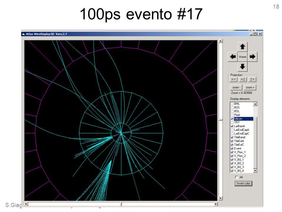 S.Giagu - Atlas Roma Analysis Meeting - 061206 18 100ps evento #17