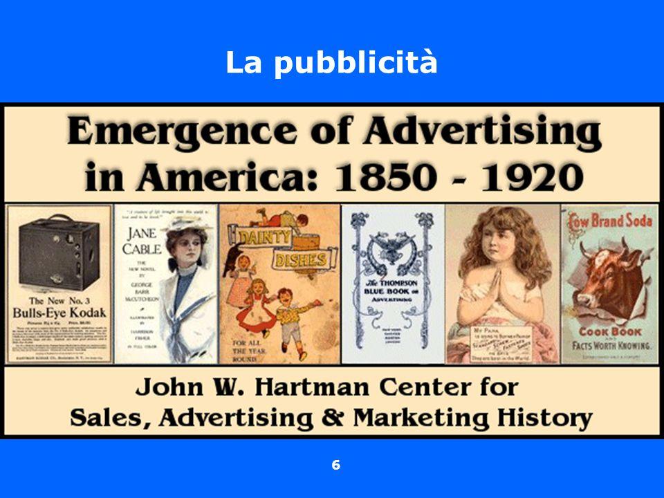 6 La pubblicità