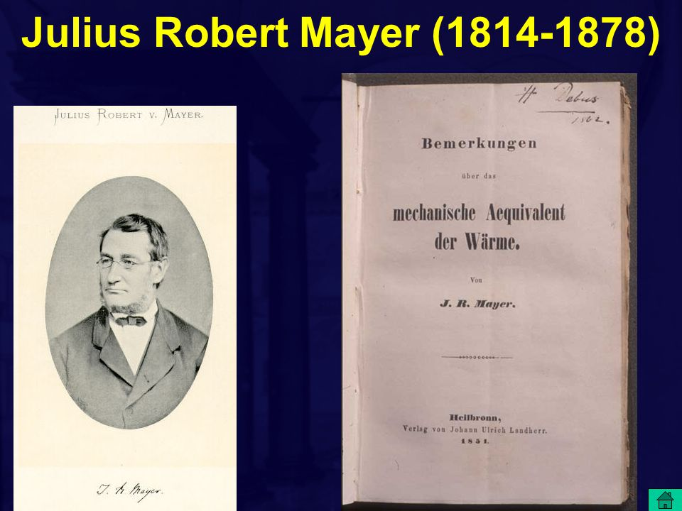Julius Robert Mayer (1814-1878)