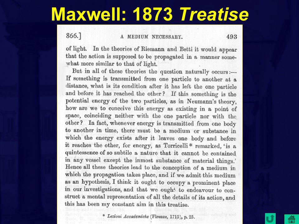 Maxwell: 1873 Treatise