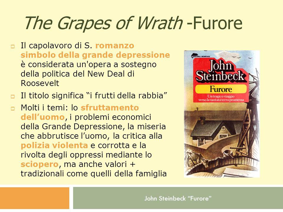 The Grapes of Wrath -Furore  Il capolavoro di S.