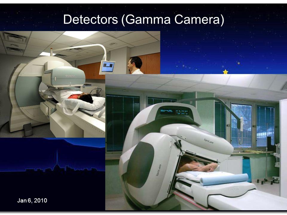 Jan 6, 2010C.Peroni - Torino Univ. & INFN5 Detectors (Gamma Camera)