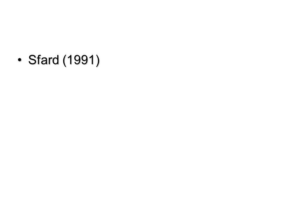 Sfard (1991)Sfard (1991)