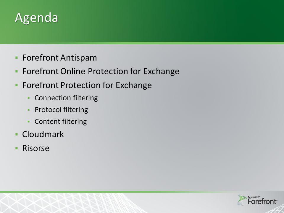 Protocol Analysis  Non è solo un problema di spam, ma un grave problema di sicurezza (può trasportare payload maligno)  Filtro anti-Backscatter aggiunge un token BATV a tutti i messaggi in uscita e ne verificia la validità in ingresso.