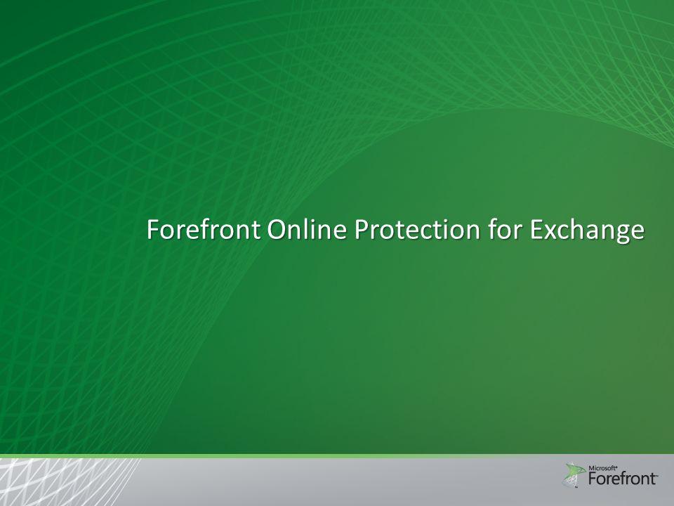 Architettura FOPE INTERNET FOPE Online Service Customer Mail server Spam quarantine Internet Cloud