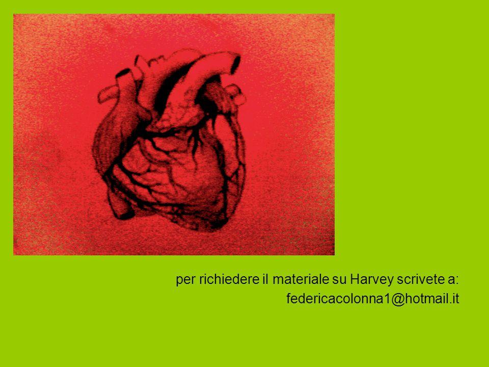 per richiedere il materiale su Harvey scrivete a: federicacolonna1@hotmail.it