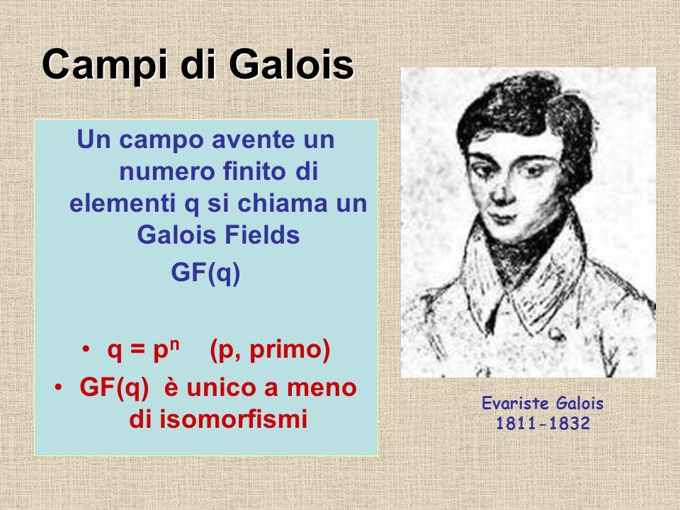 Costruiamo i campi di Galois di ordine primo p .