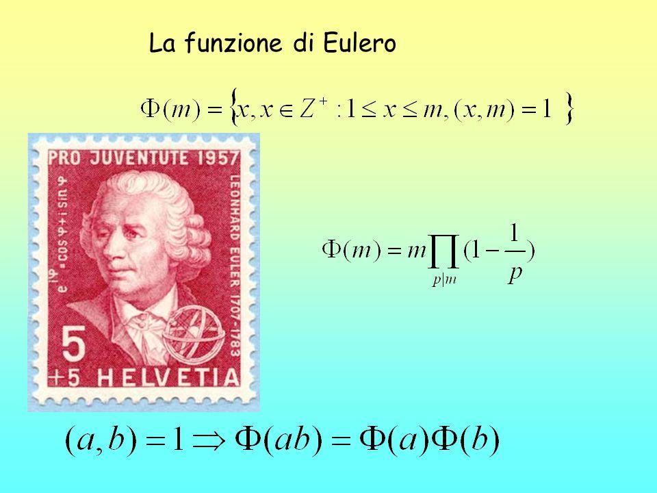 GF(p n ) è un ampliamento n-mo di GF(p) Esempio: costruzione di GF(3 2 ) Elementi di GF(3 2 ): sono i polinomi di 1° grado a coefficienti in GF(3) 0, 1, 2, x, 2x, x+1, x+2, 2x+1, 2x+2 operazioni: somma e prodotti di polinomi con : x 2 = -1 (eq.