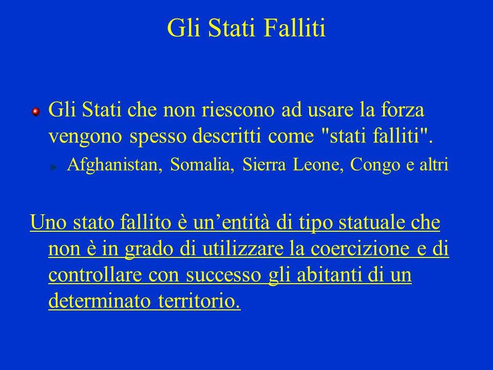 Somalia: Uno stato fallito Nel 1993 ho svolto un'attività di soccorso presso Baidoa, in Somalia.
