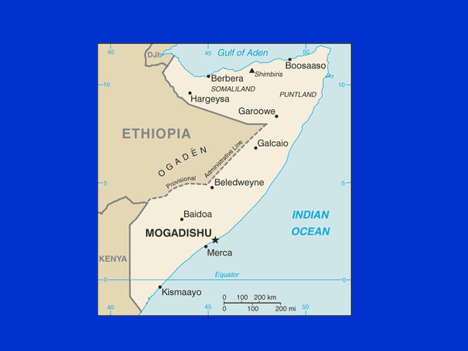 Somalia: Uno Stato Fallito Indipendenza della Somalia nel 1960: Stato indipendente nato dall unificazione della Somalia Italiana e della Somalia Britannica.