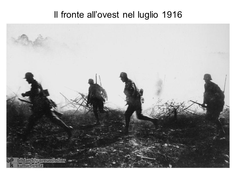 Il campo di battaglia nel 1916
