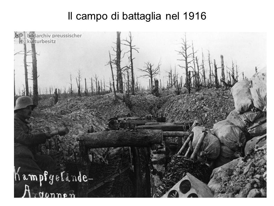 Pausa nella trincea 1914