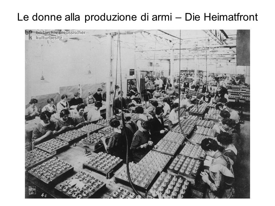 Rifornimento con alimenti Nell'aspettativa di una veloce vittoria le riserve alimentari furono consumate nei primi mesi della guerra.