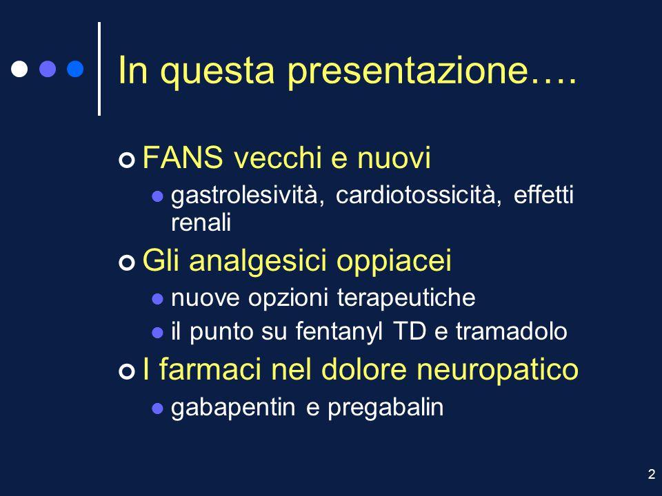 2 In questa presentazione….
