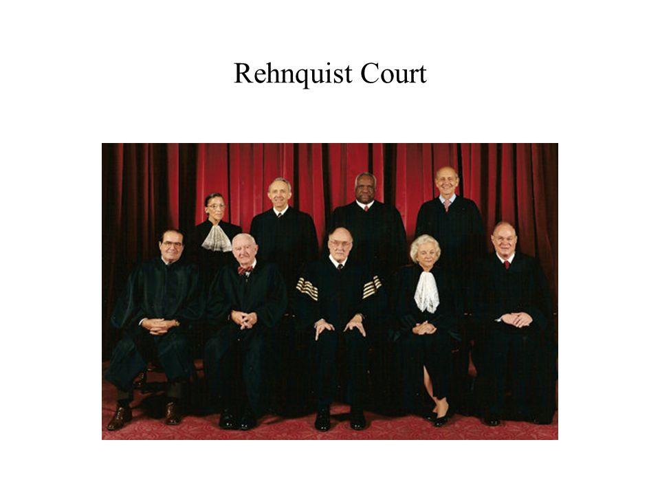 Rehnquist Court