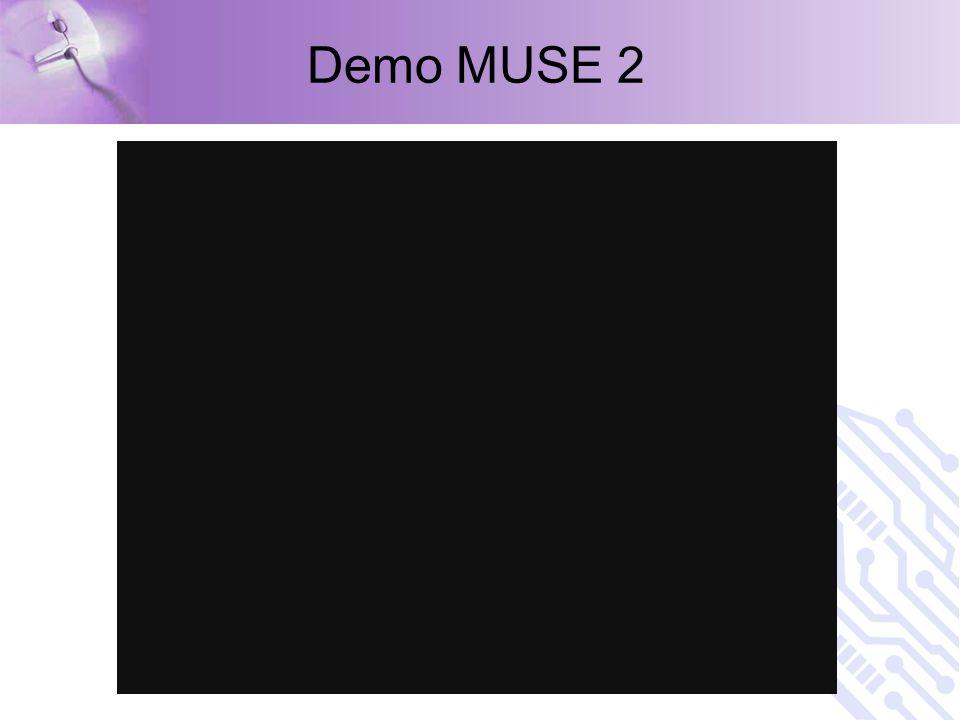 Demo MUSE 2