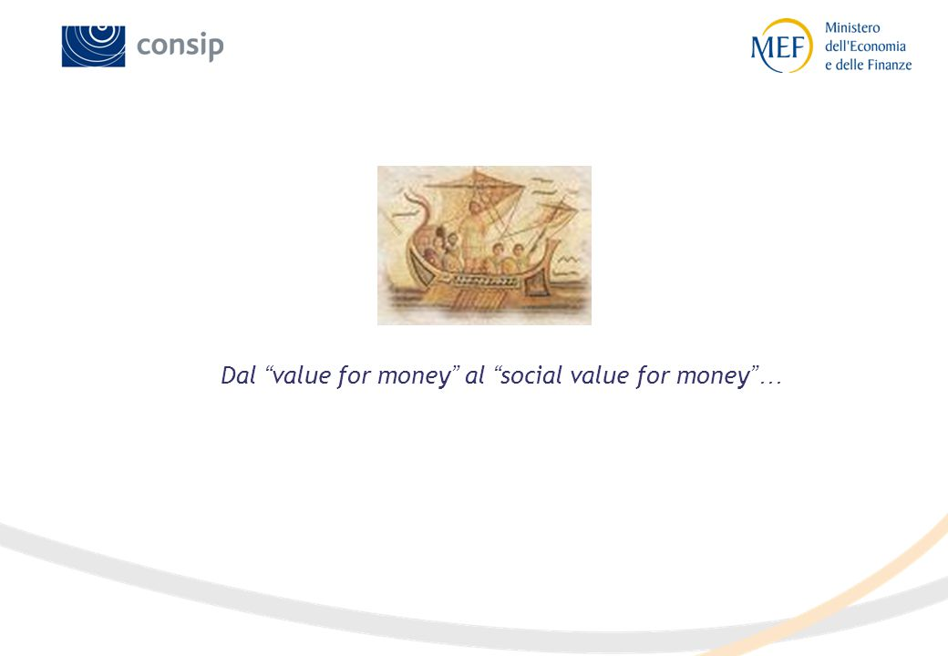 "Dal "" value for money "" al "" social value for money ""…"
