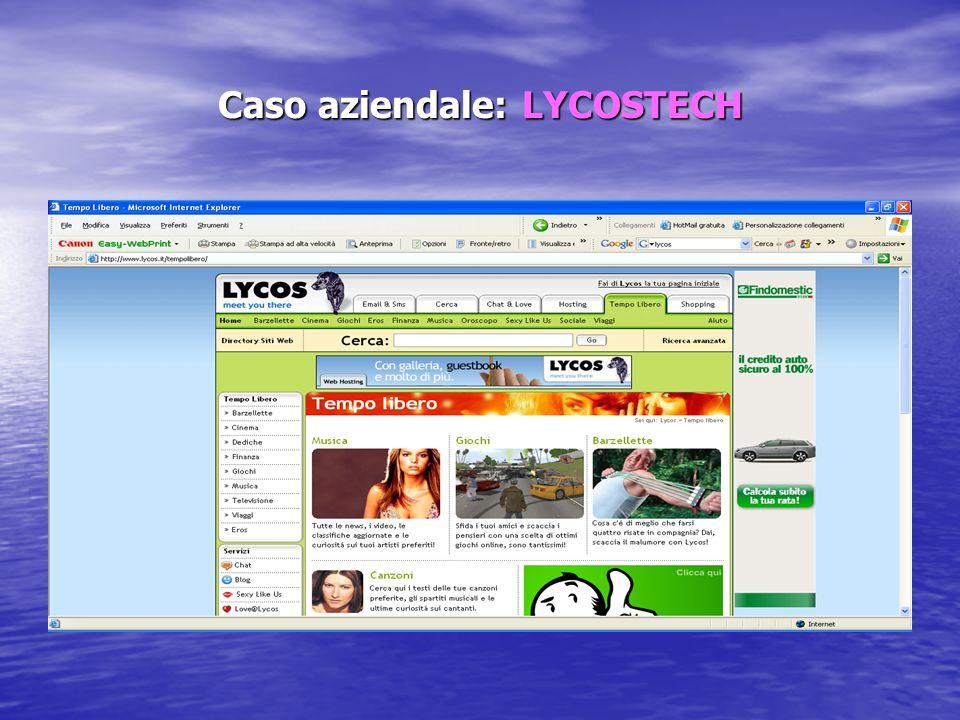 Caso aziendale: LYCOSTECH