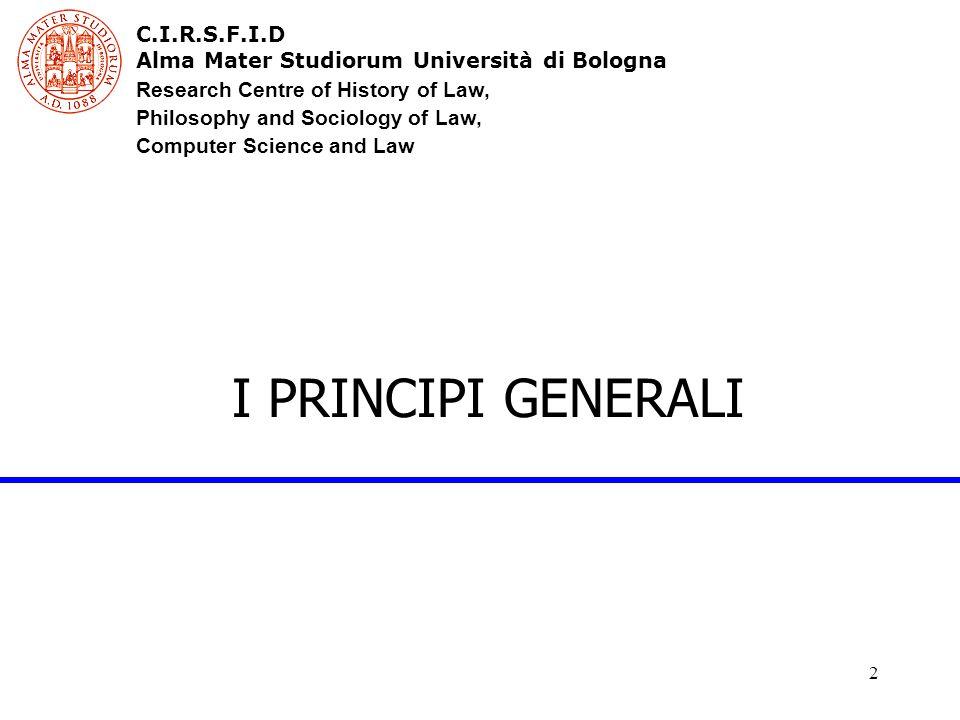 3 Il quadro normativo Convenzione del Consiglio d'Europa n.