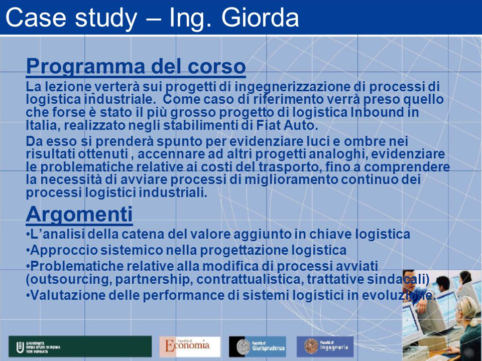 Case study – Ing.