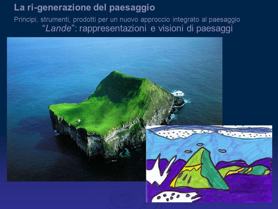 Lande : rappresentazioni e visioni di paesaggi La ri-generazione del paesaggio Principi, strumenti, prodotti per un nuovo approccio integrato al paesaggio