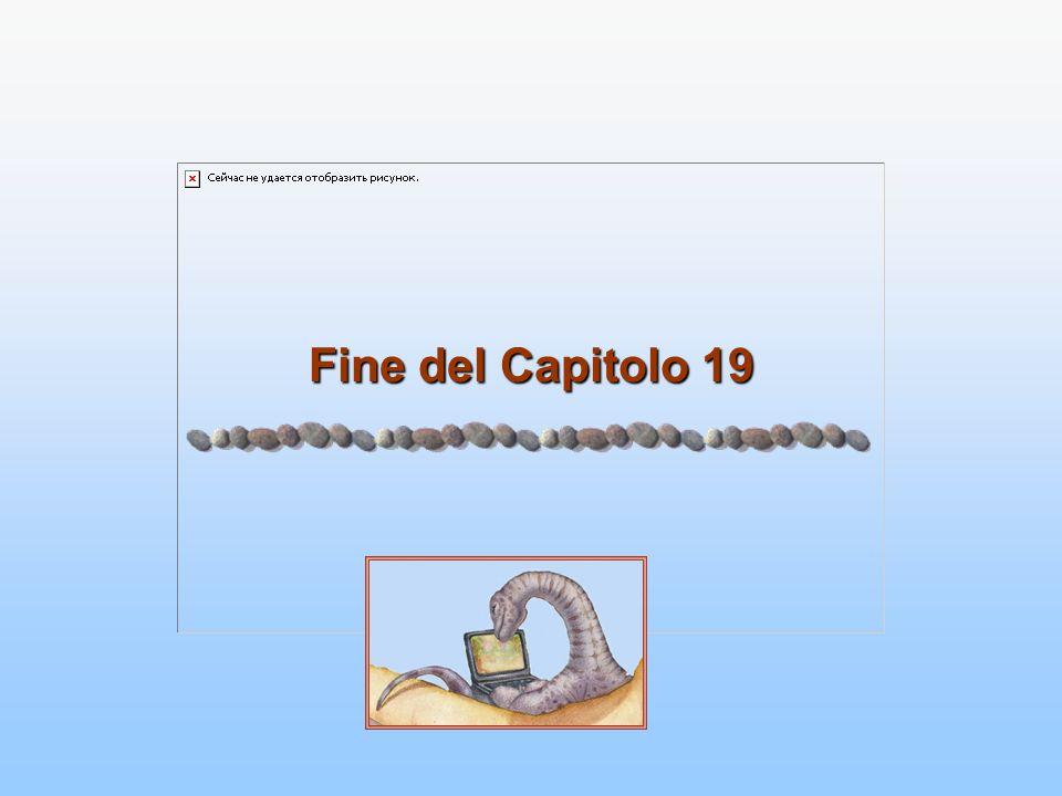 Fine del Capitolo 19