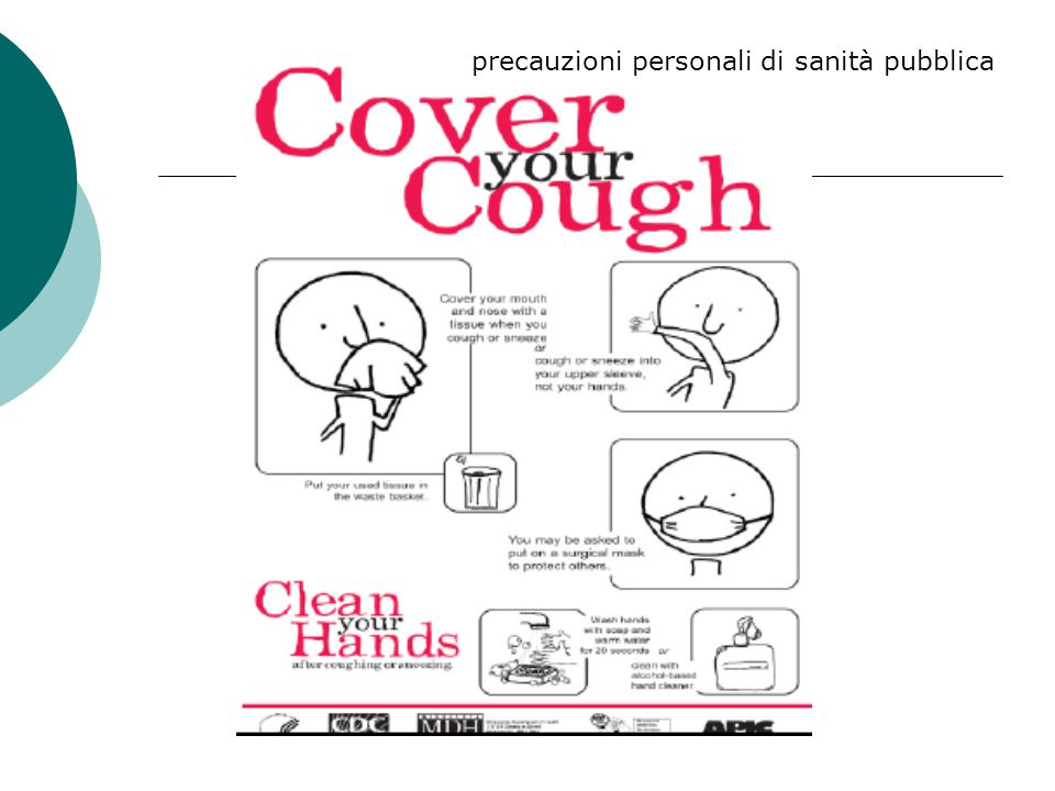 precauzioni personali di sanità pubblica