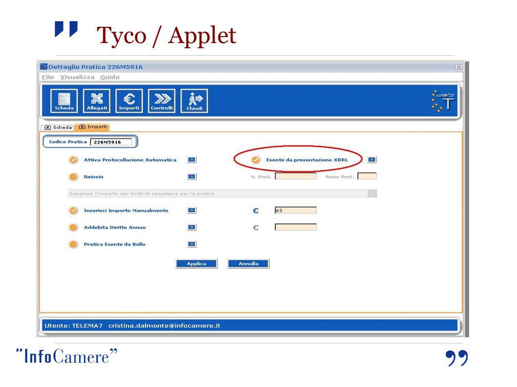 Tyco / Applet