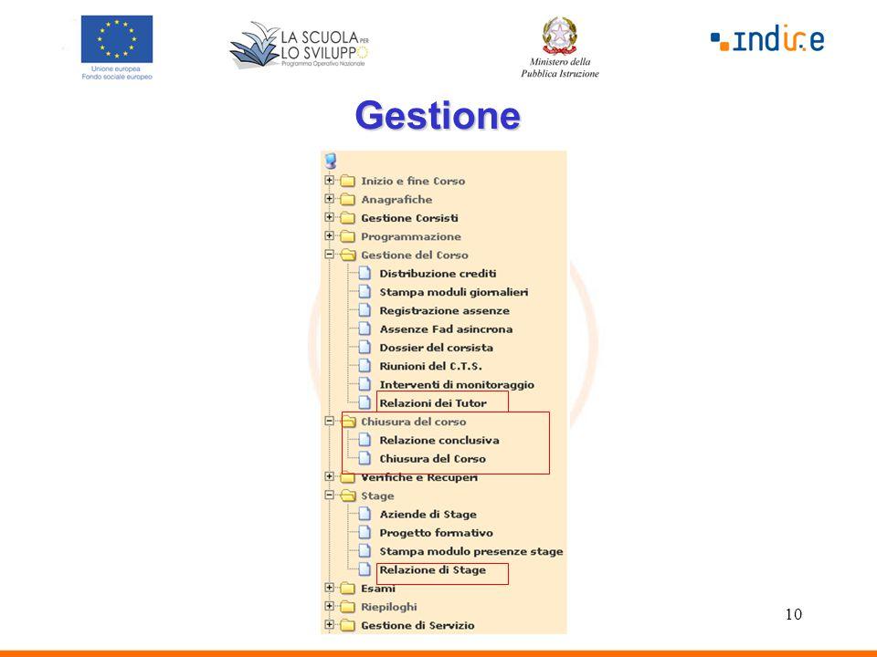 10 Gestione