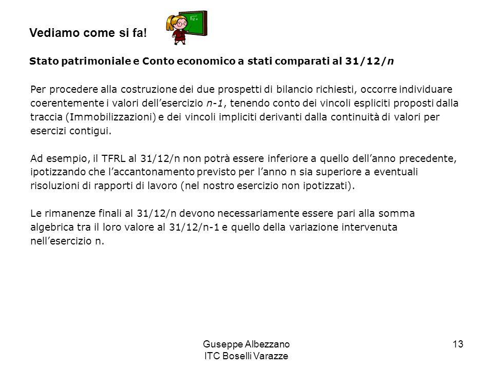 Guseppe Albezzano ITC Boselli Varazze 13 Vediamo come si fa.
