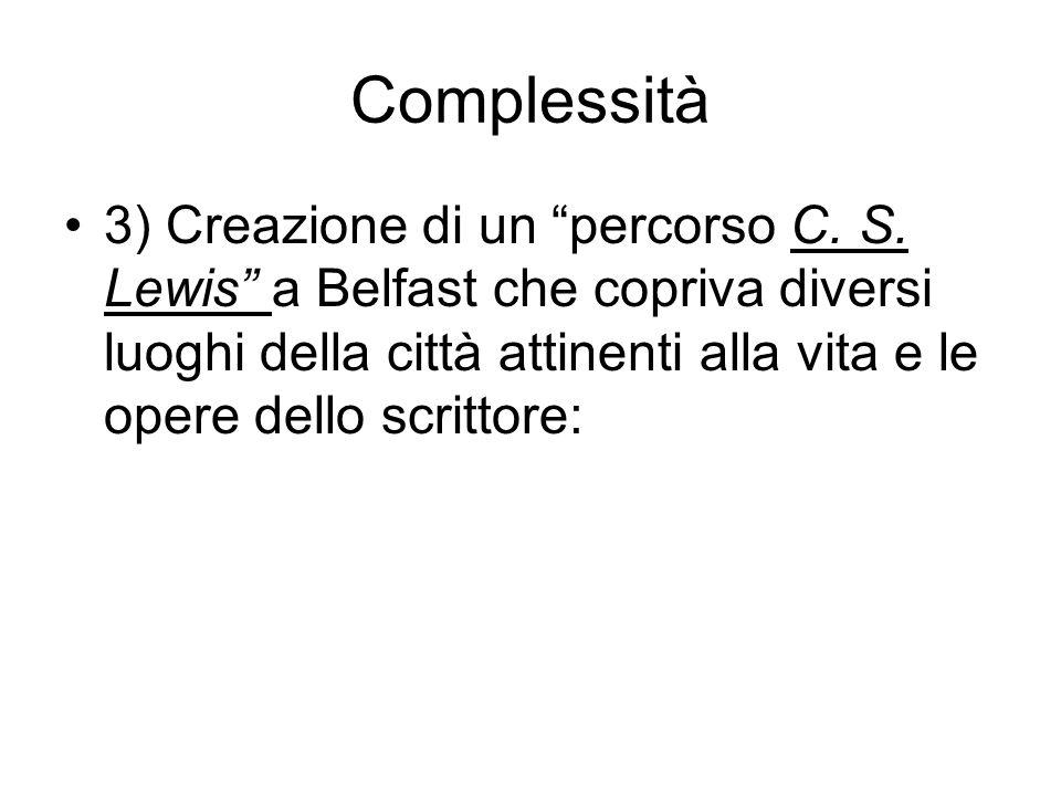 Complessità 3) Creazione di un percorso C. S.