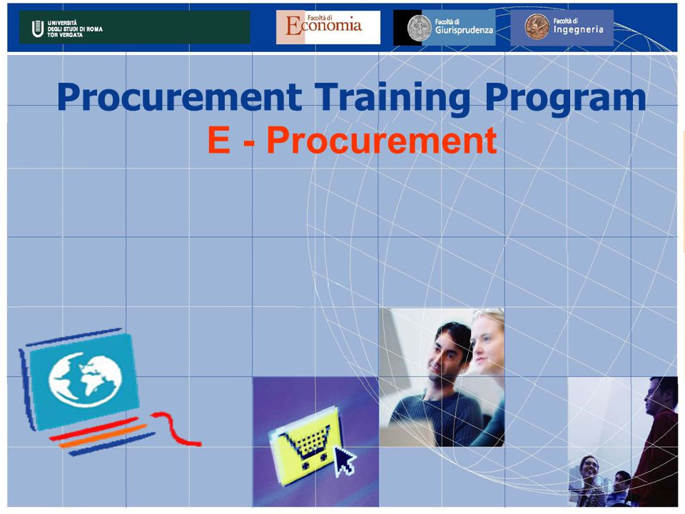 Procurement Training Program E - Procurement